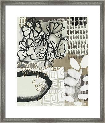 Autumn Abstract 2- Art By Linda Woods Framed Print by Linda Woods