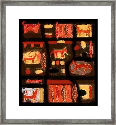 Autumn Framed Print by Aliza Souleyeva-Alexander
