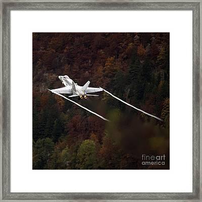 Autumn Framed Print by Angel  Tarantella