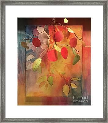 Autumn Apples 3d Framed Print