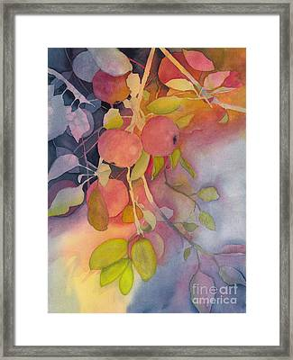 Autumn Apples Full Painting Framed Print