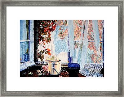Autumn Aromas Framed Print by Hanne Lore Koehler