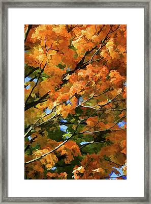 Autumn Framed Print by Art Spectrum