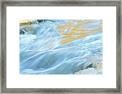 The Flow 2 Framed Print by Fraida Gutovich