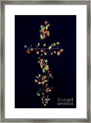 Autumn Aspen Isoceles II Framed Print