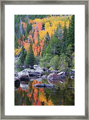Autumn At Bear Lake Framed Print