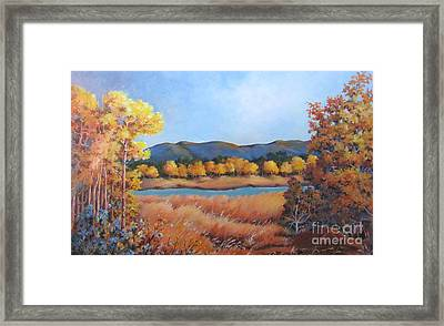 Autumn At Fraser Valley 2 Framed Print