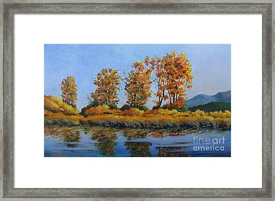 Autumn At Fraser Valley Framed Print
