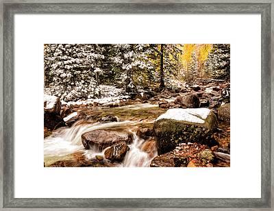 Autumn At Gore Creek 3 - Vail Colorado Framed Print by Brian Harig