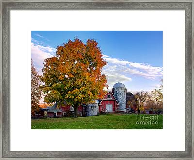 Autumn At Lusscroft Farm Framed Print