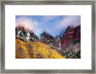 Autumn At Maroon Lake Framed Print