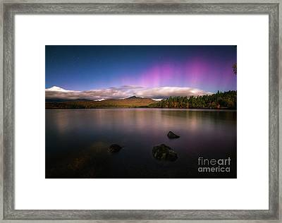 Autumn At Night Framed Print by Scott Thorp