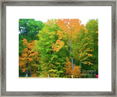 Autumn At Olana 2 Framed Print