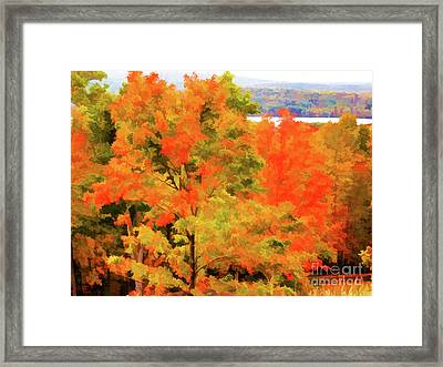 Autumn At Olana 6 Framed Print