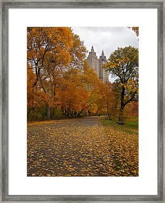 Autumn At The El Dorado Framed Print