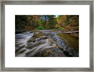 Autumn At Wolf Creek Framed Print by Rick Berk
