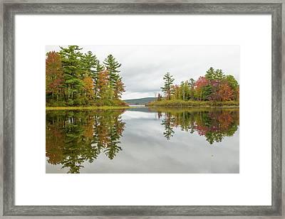 Autumn At Wood Creek Framed Print