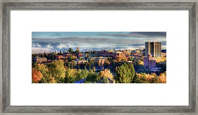 Autumn At Wsu Framed Print