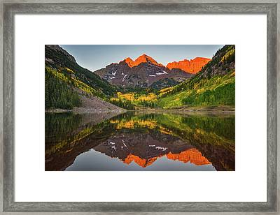 Autumn Bells Framed Print
