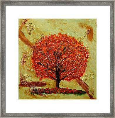 Autumn Framed Print by Betty-Anne McDonald