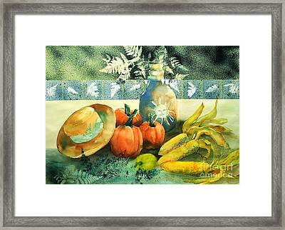 Autumn Bounty   Framed Print