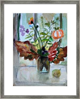 Autumn Bouquet Framed Print by Andrey Semionov