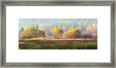 Autumn Bouquet Framed Print