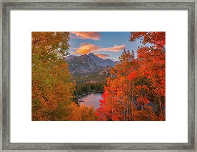 Autumn's Breath Framed Print