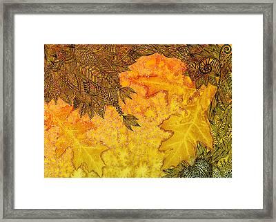 Autumn Breeze I Framed Print by Amrita Dutia