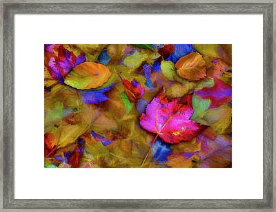 Framed Print featuring the photograph Autumn Breeze by Paul Wear
