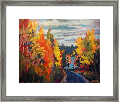 Autumn Framed Print by Brian Simons