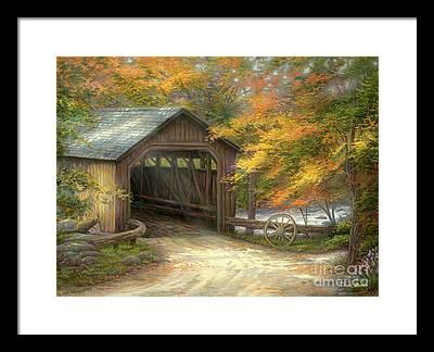 Covered Bridge Framed Prints