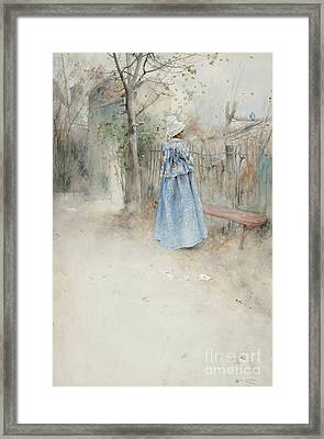 Autumn Framed Print by Carl Larsson