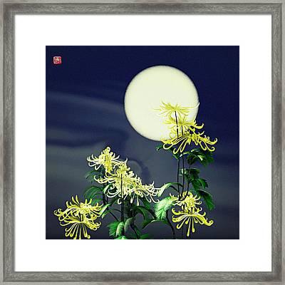 Autumn Chrysanthemums 2 Framed Print