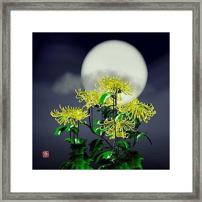Autumn Chrysanthemums Framed Print