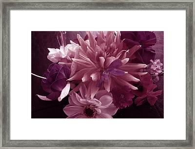 Autumn Collection Framed Print by Nancy Pauling