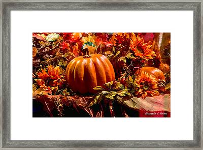 Autumn Colors Framed Print by Christopher Holmes