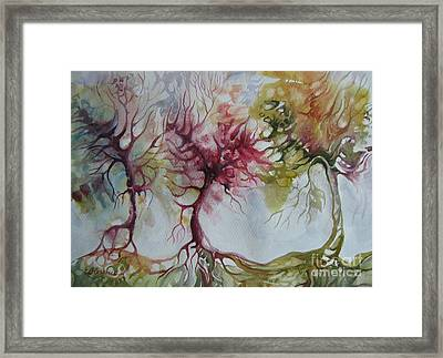 Autumn Colors Framed Print by Elena Oleniuc