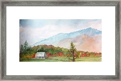 Autumn Colors Framed Print by Kris Dixon