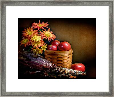 Autumn Framed Print by David and Carol Kelly