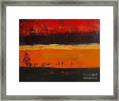 Autumn Day Framed Print by Patricia Awapara