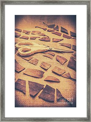Autumn Decomposition Framed Print