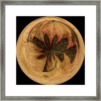 Autumn Deep Sphere Framed Print