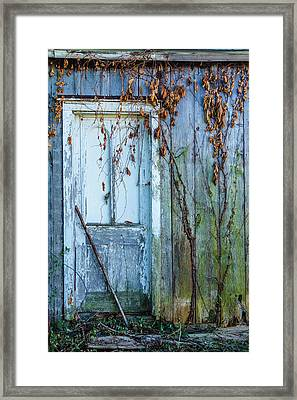 Autumn Door Framed Print