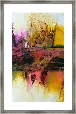 Framed Print featuring the painting Autumn Dream by Mary Sullivan