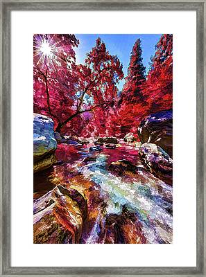 Autumn Dreaming Framed Print by ABeautifulSky Photography