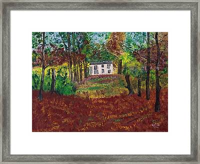 Autumn Dreams Framed Print by James Bryron Love