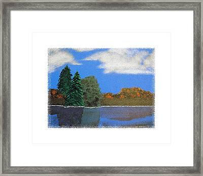 Autumn Dusk- A Tribute To Ross Framed Print by Robert Boyette