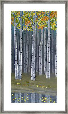 Autumn Embers II Framed Print