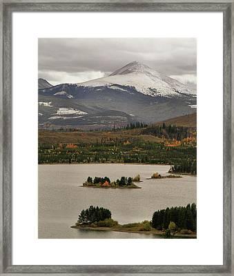 Autumn Enters Breckenridge Colorado Framed Print by Dan Sproul